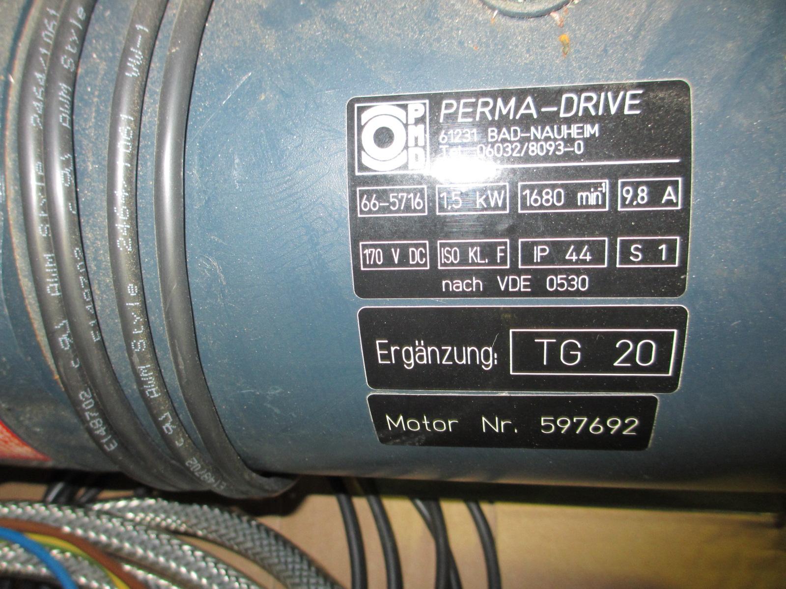 Lot 8 - Perma-Drive 2HP Motor