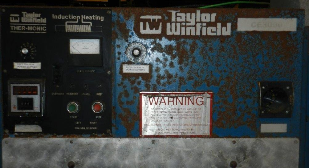 Lot 88 - Taylor Winfield CE-3000 30 kW Dual Station Induction Hardener