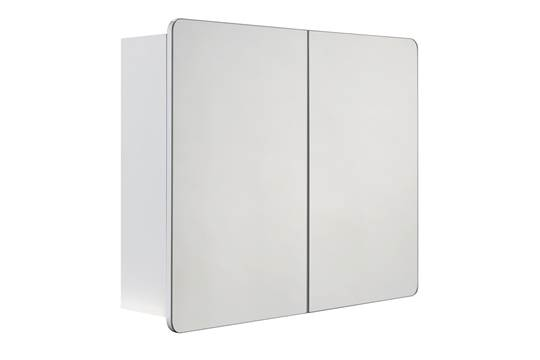boxed cooke and lewis lesina single door mirrored bathroom cabinet rrp