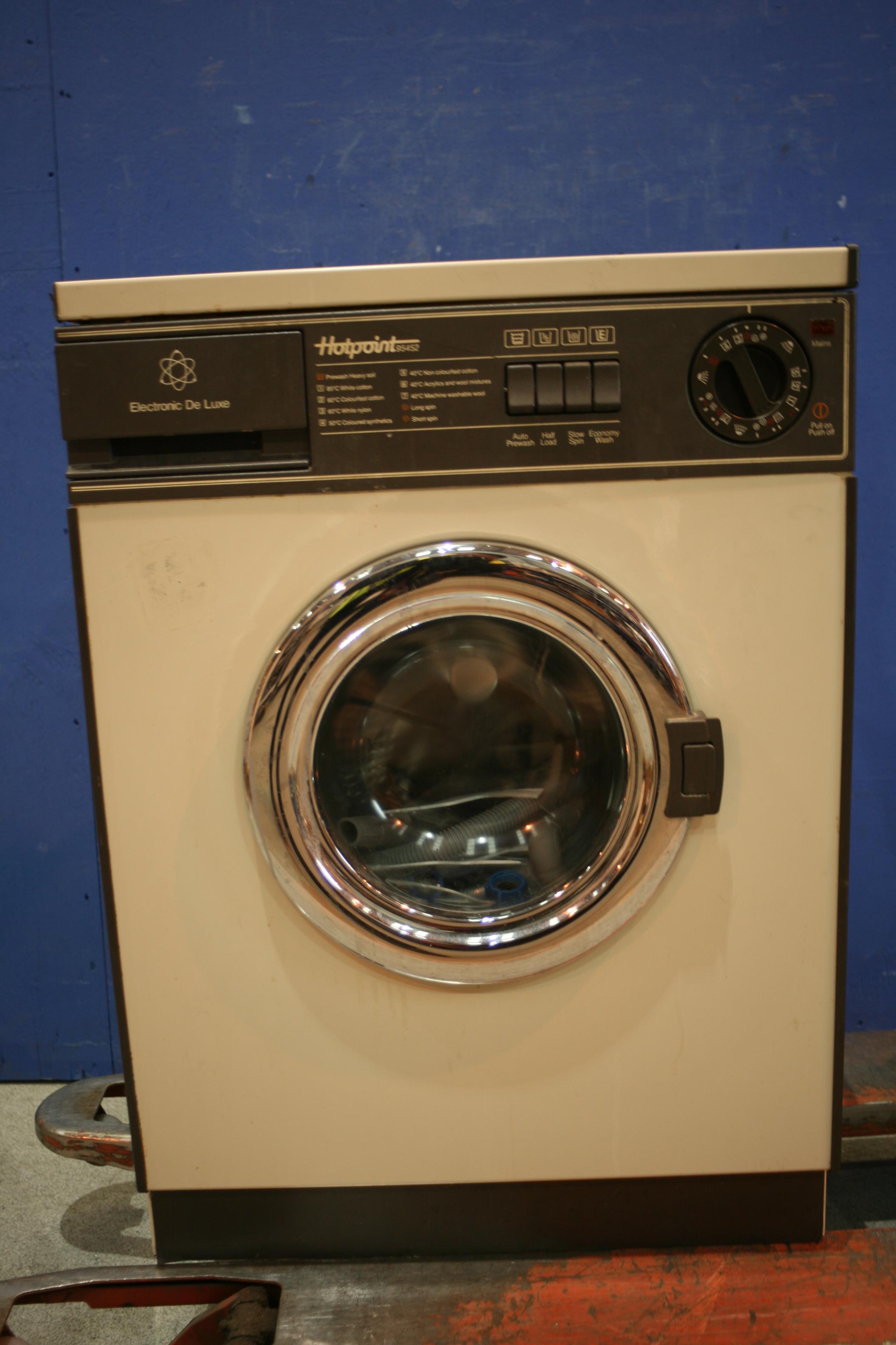no power to washing machine