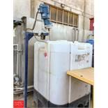 330 Gallon Plastic Tank with Mixer Rigging Fee: 300