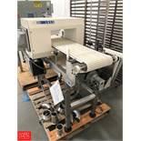 """Mettler Toledo Metal Detector Model Met30+ with 12"""""""" wide Food Grade Interlocking Belt Rigging"""