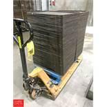 """(140) American Pan Aluminum Sheet Pans , .5"""" x 18"""" x 26"""", with Caterpillar 5,500 LB Capacity"""