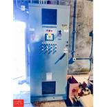 Waste Water Control Panel, Siemens PLC Controls and Mitsubishi Variable Frequency Drives Rigging