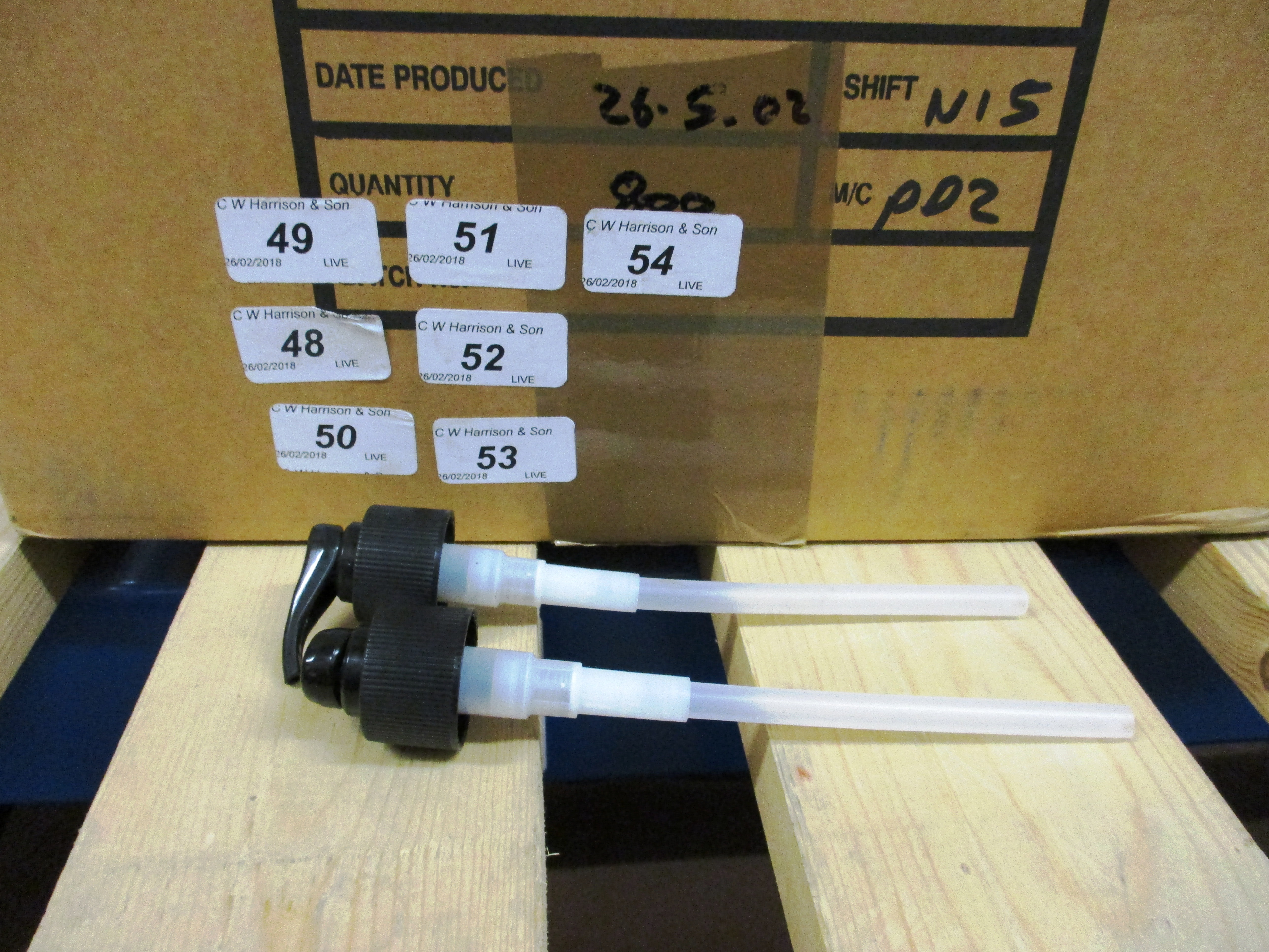 Lot 53 - 1600 x Canyon Inventor of quality trigger sprayers (2 outer boxes)