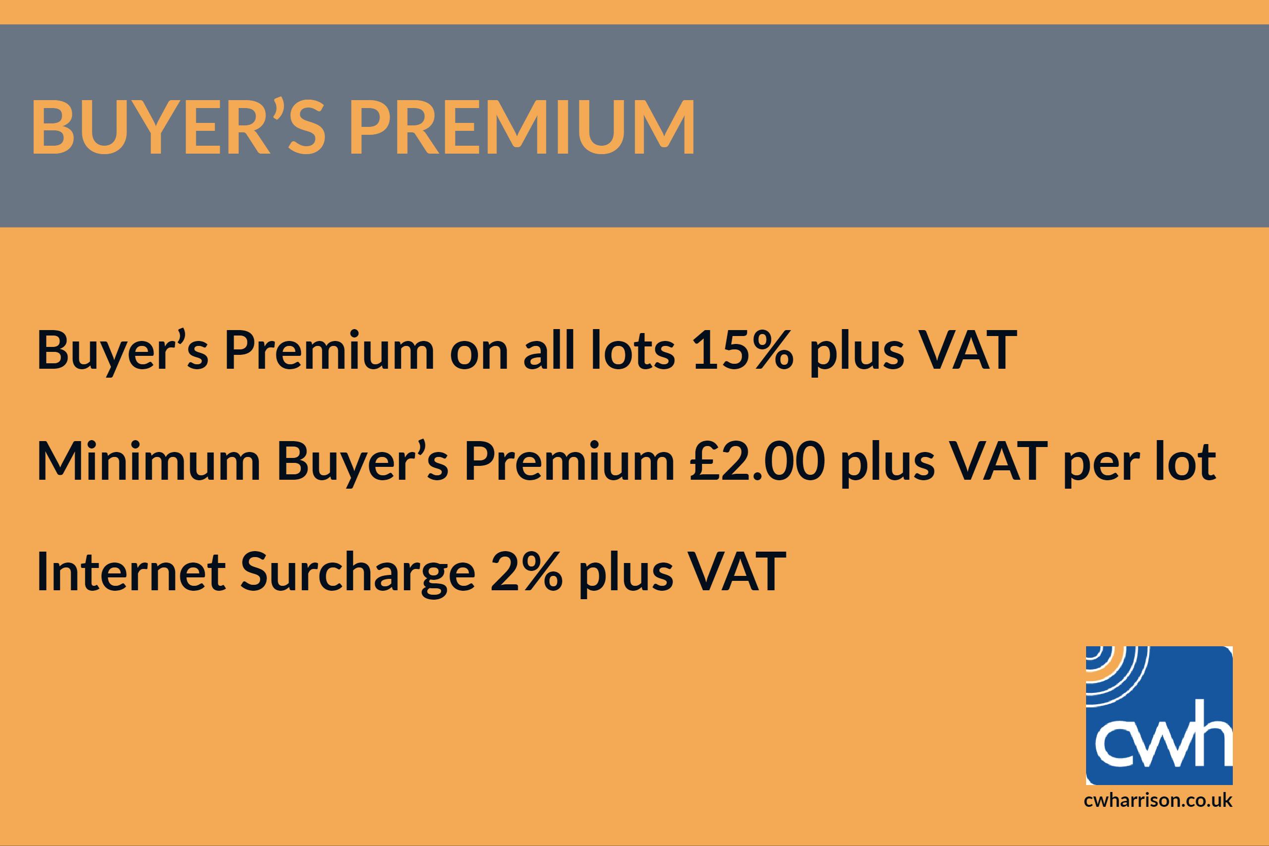 Lot 1C - Buyers Premium Rate