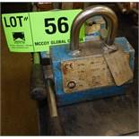 LOT/ (2) SCHUNK MLH250 250 LBS CAPACITY LIFTING MAGNETS, S/N N/A