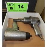 LOT/ (2) PNEUMATIC IMPACT GUNS