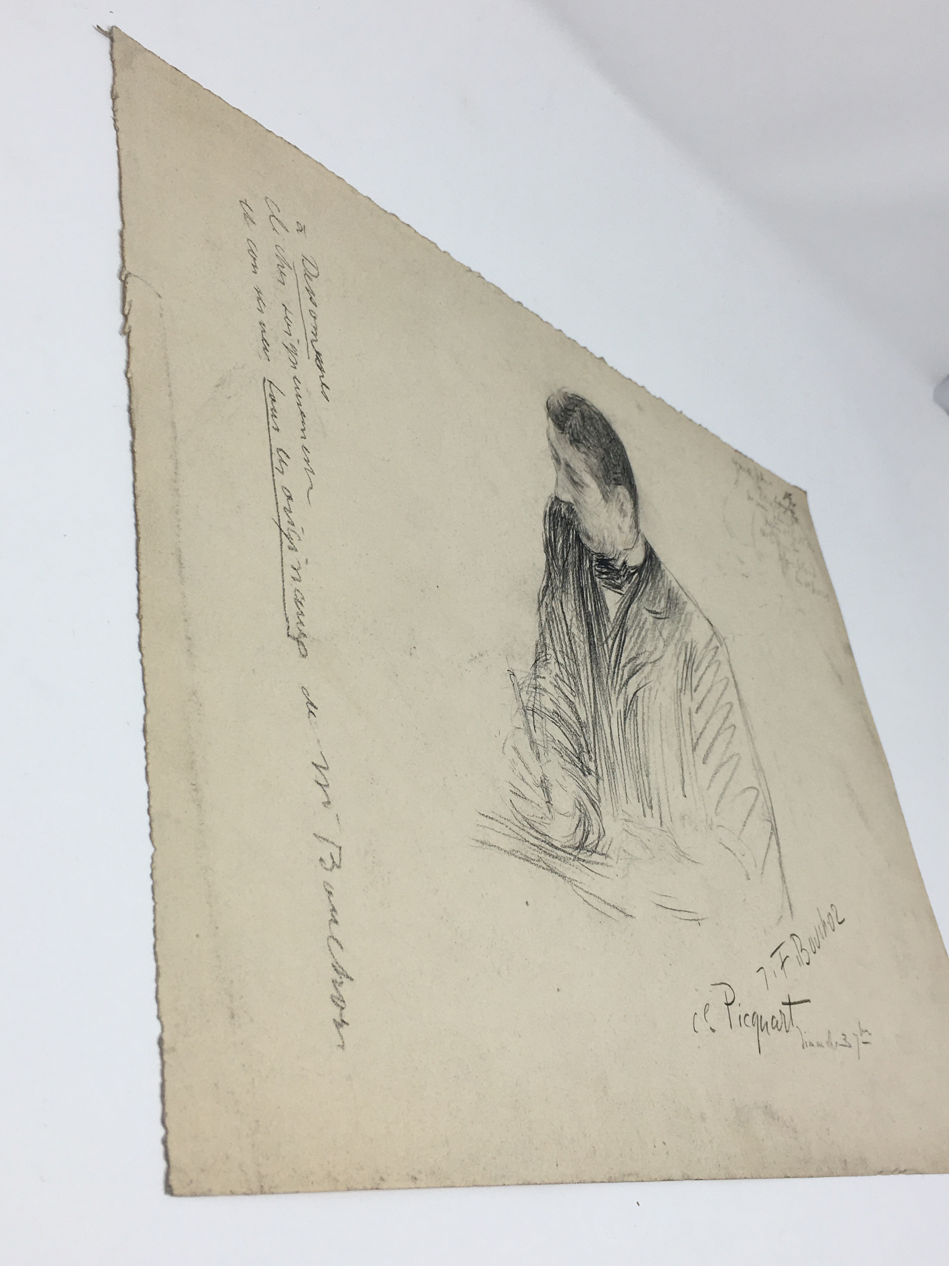 J'Accuse Newspaper, Emile Zola Quote, Signed Dreyfus Portrait, Rare Trial Drawings & Schwartzkoppen - Image 41 of 74