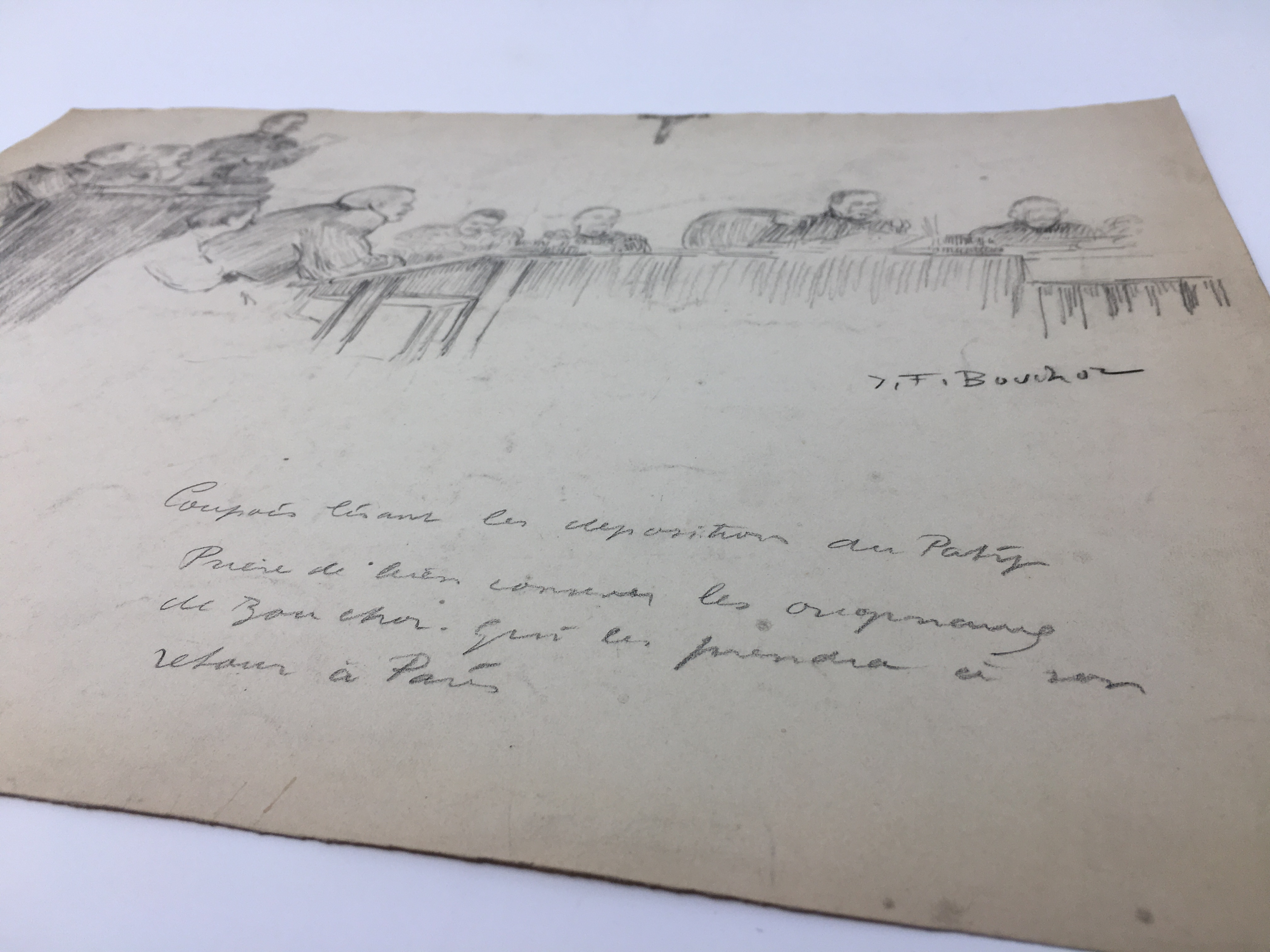 J'Accuse Newspaper, Emile Zola Quote, Signed Dreyfus Portrait, Rare Trial Drawings & Schwartzkoppen - Image 32 of 74