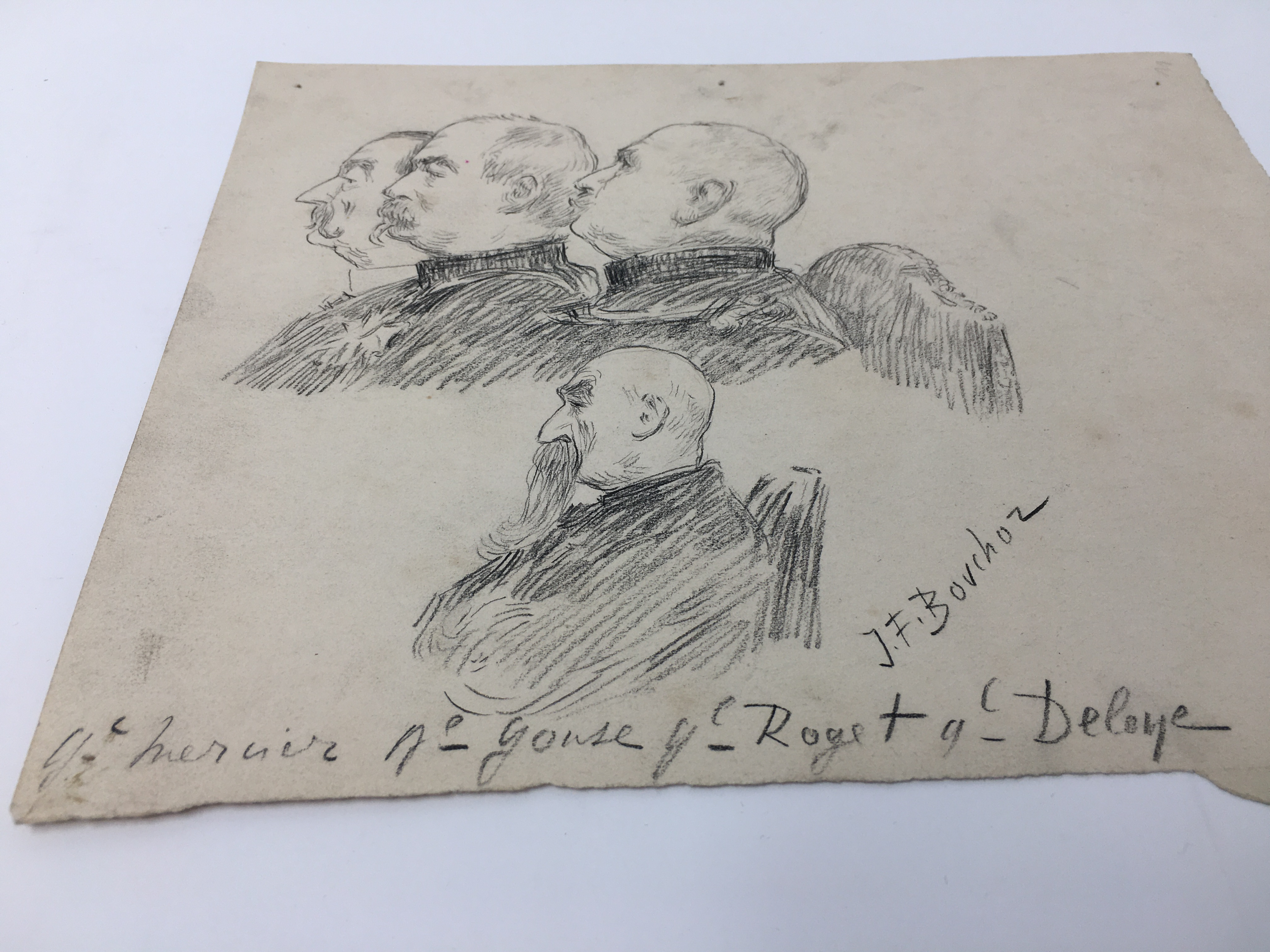 J'Accuse Newspaper, Emile Zola Quote, Signed Dreyfus Portrait, Rare Trial Drawings & Schwartzkoppen - Image 61 of 74