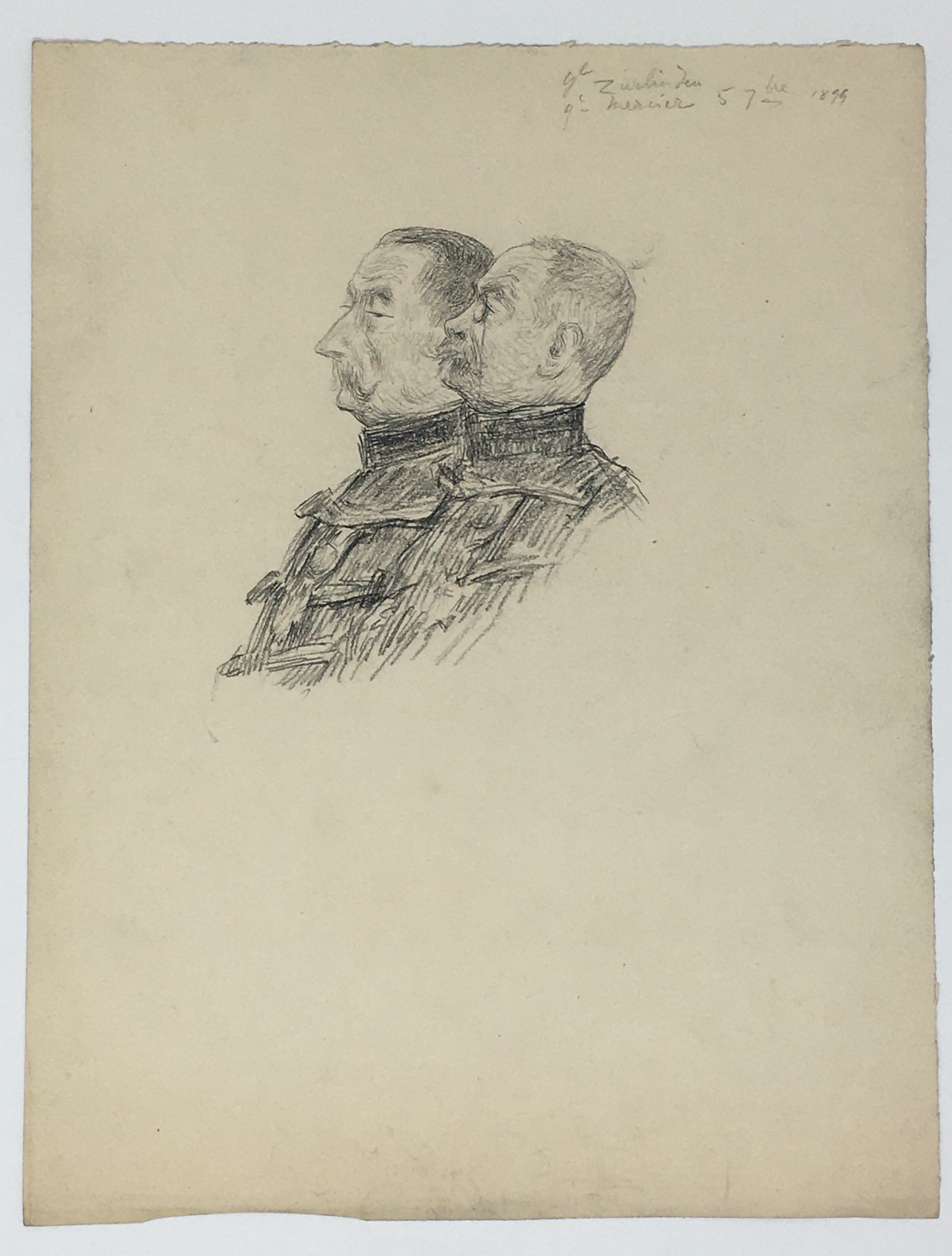 J'Accuse Newspaper, Emile Zola Quote, Signed Dreyfus Portrait, Rare Trial Drawings & Schwartzkoppen - Image 66 of 74