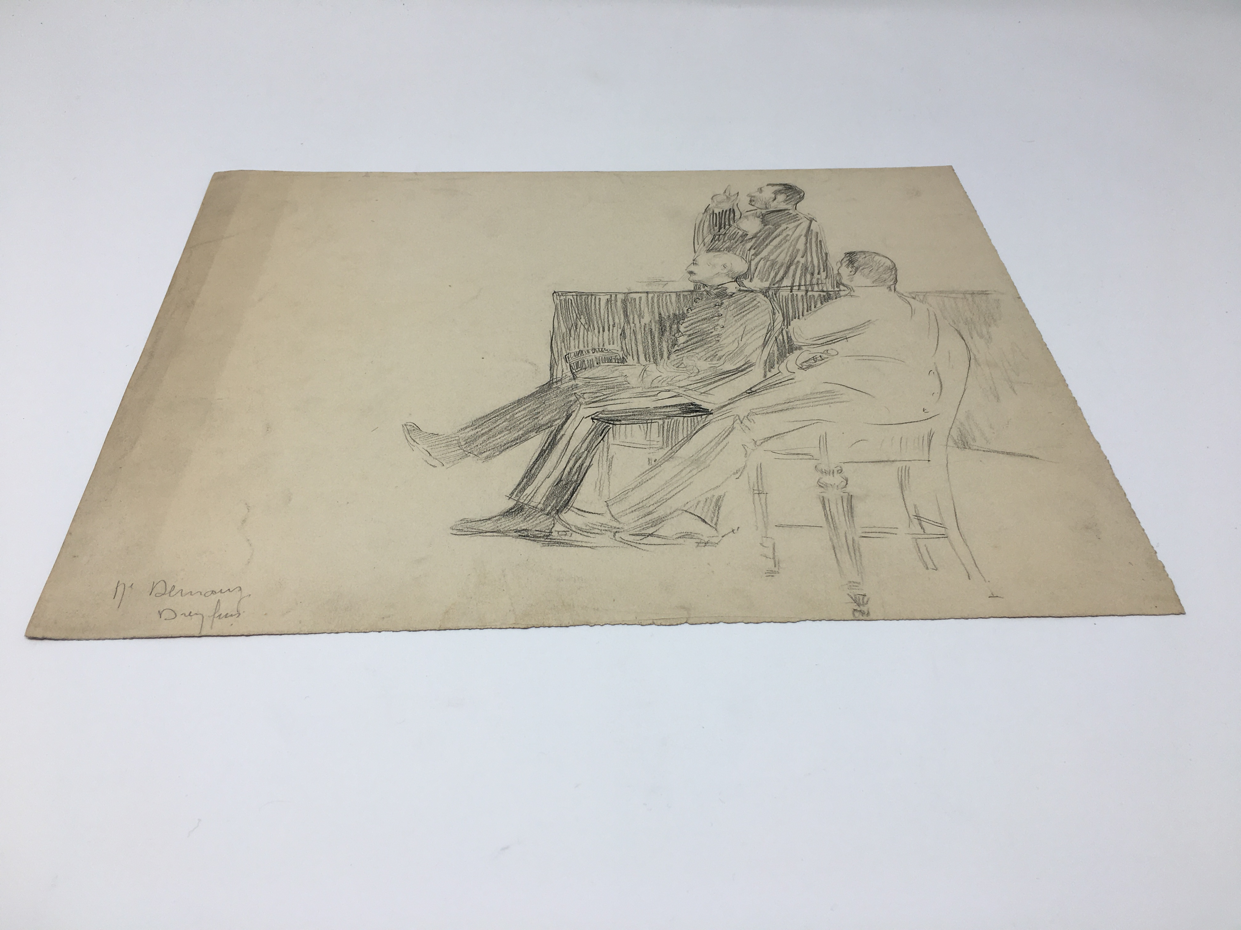 J'Accuse Newspaper, Emile Zola Quote, Signed Dreyfus Portrait, Rare Trial Drawings & Schwartzkoppen - Image 26 of 74