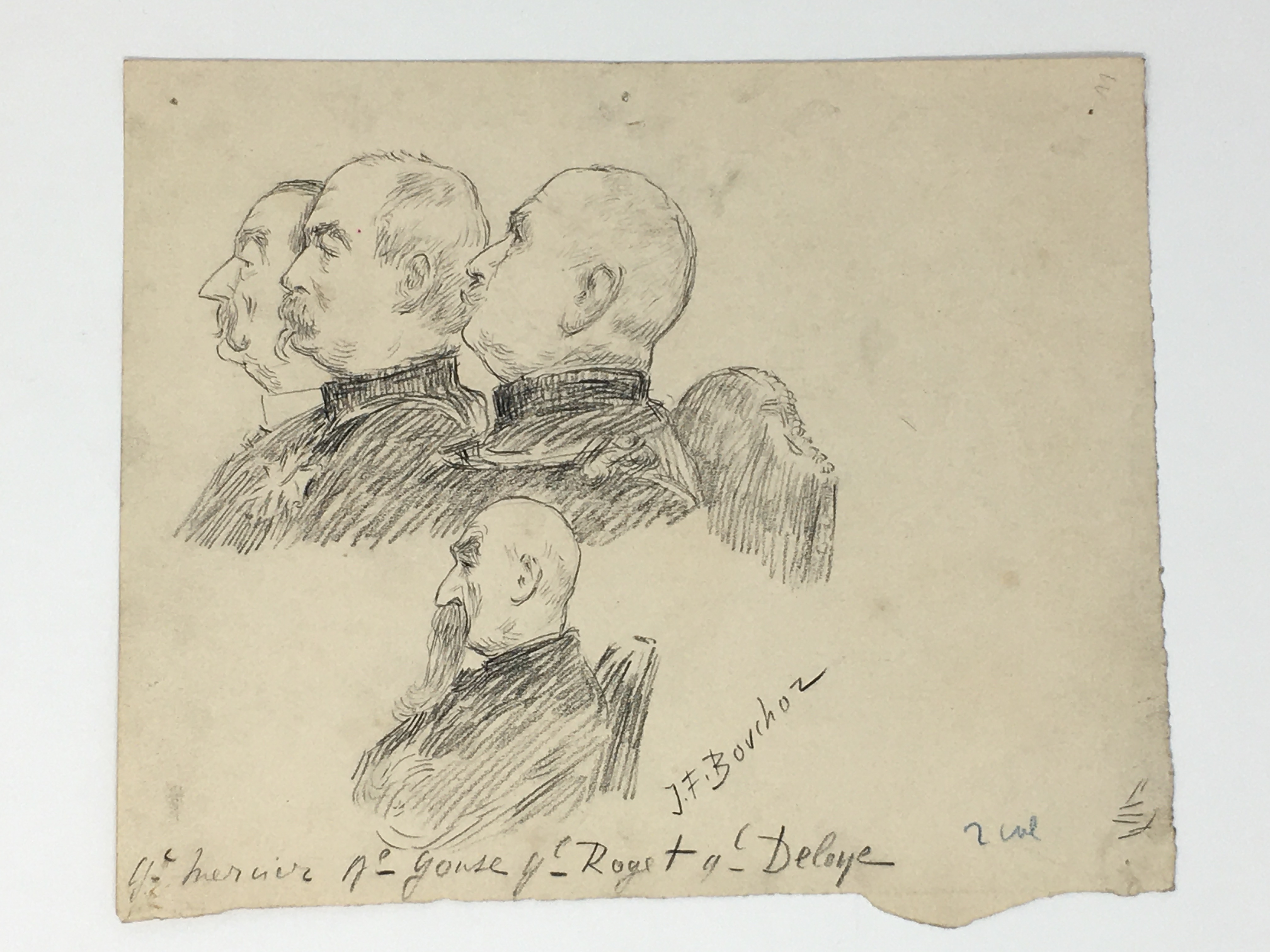 J'Accuse Newspaper, Emile Zola Quote, Signed Dreyfus Portrait, Rare Trial Drawings & Schwartzkoppen - Image 59 of 74
