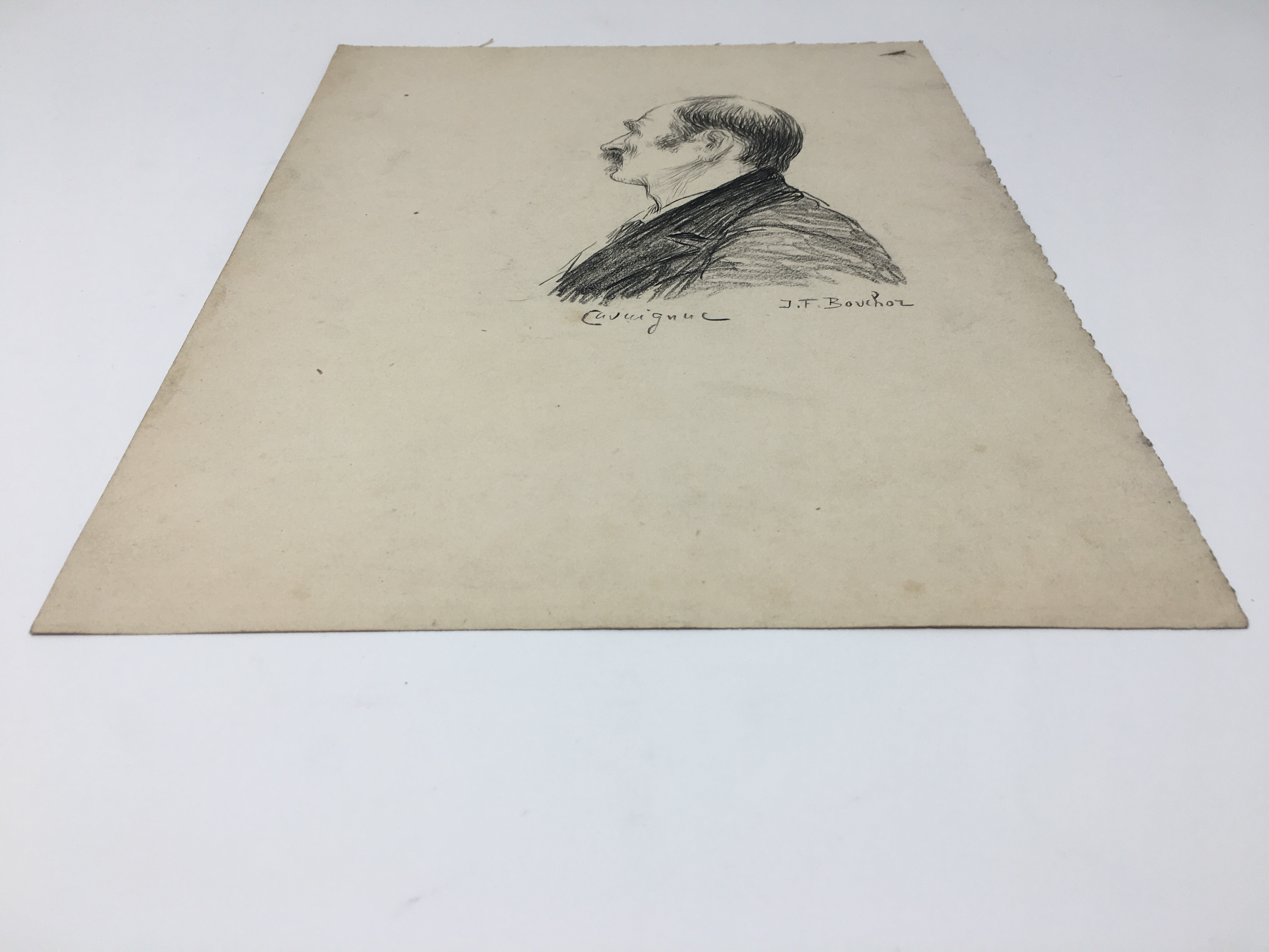 J'Accuse Newspaper, Emile Zola Quote, Signed Dreyfus Portrait, Rare Trial Drawings & Schwartzkoppen - Image 45 of 74