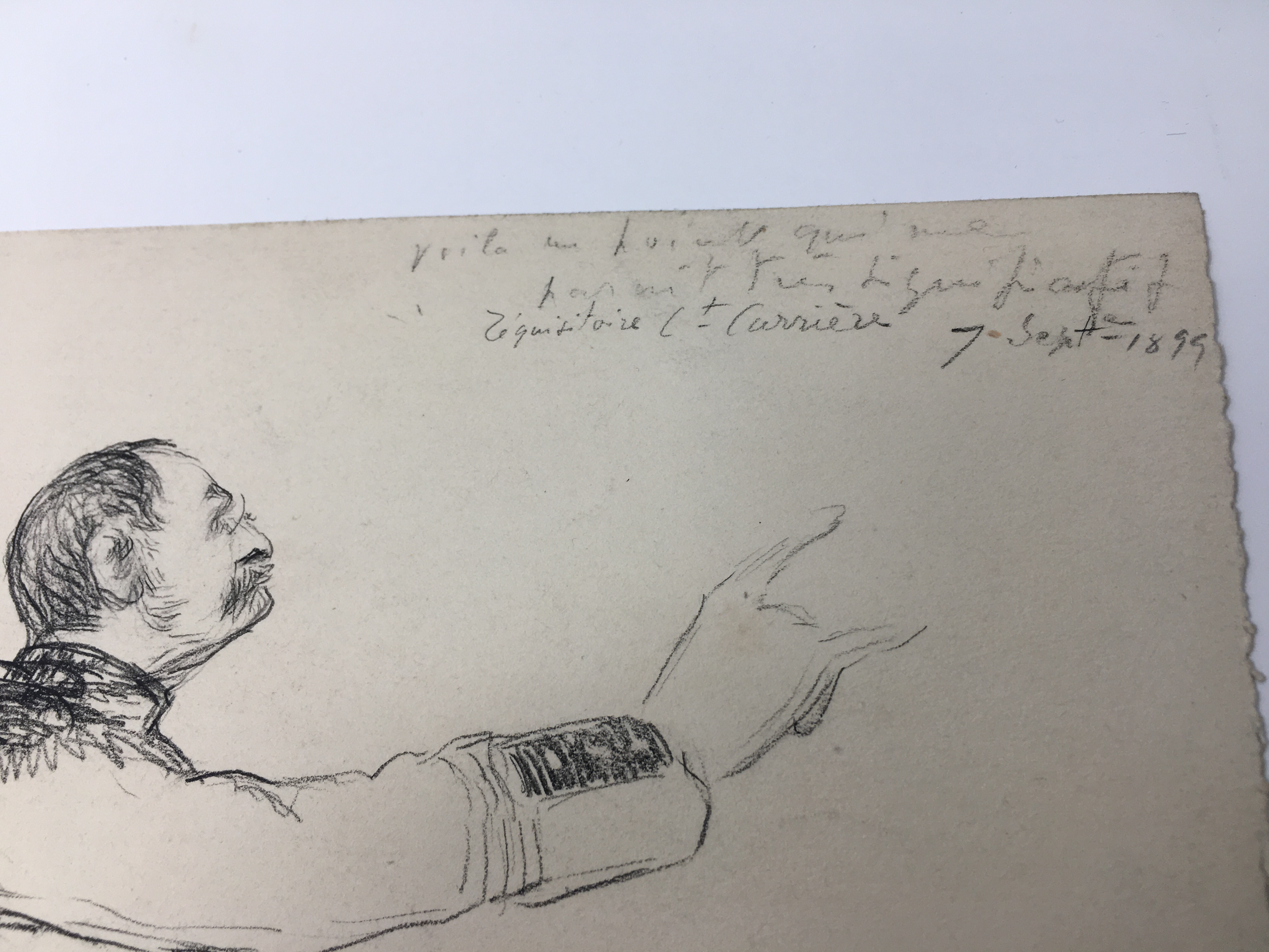 J'Accuse Newspaper, Emile Zola Quote, Signed Dreyfus Portrait, Rare Trial Drawings & Schwartzkoppen - Image 58 of 74