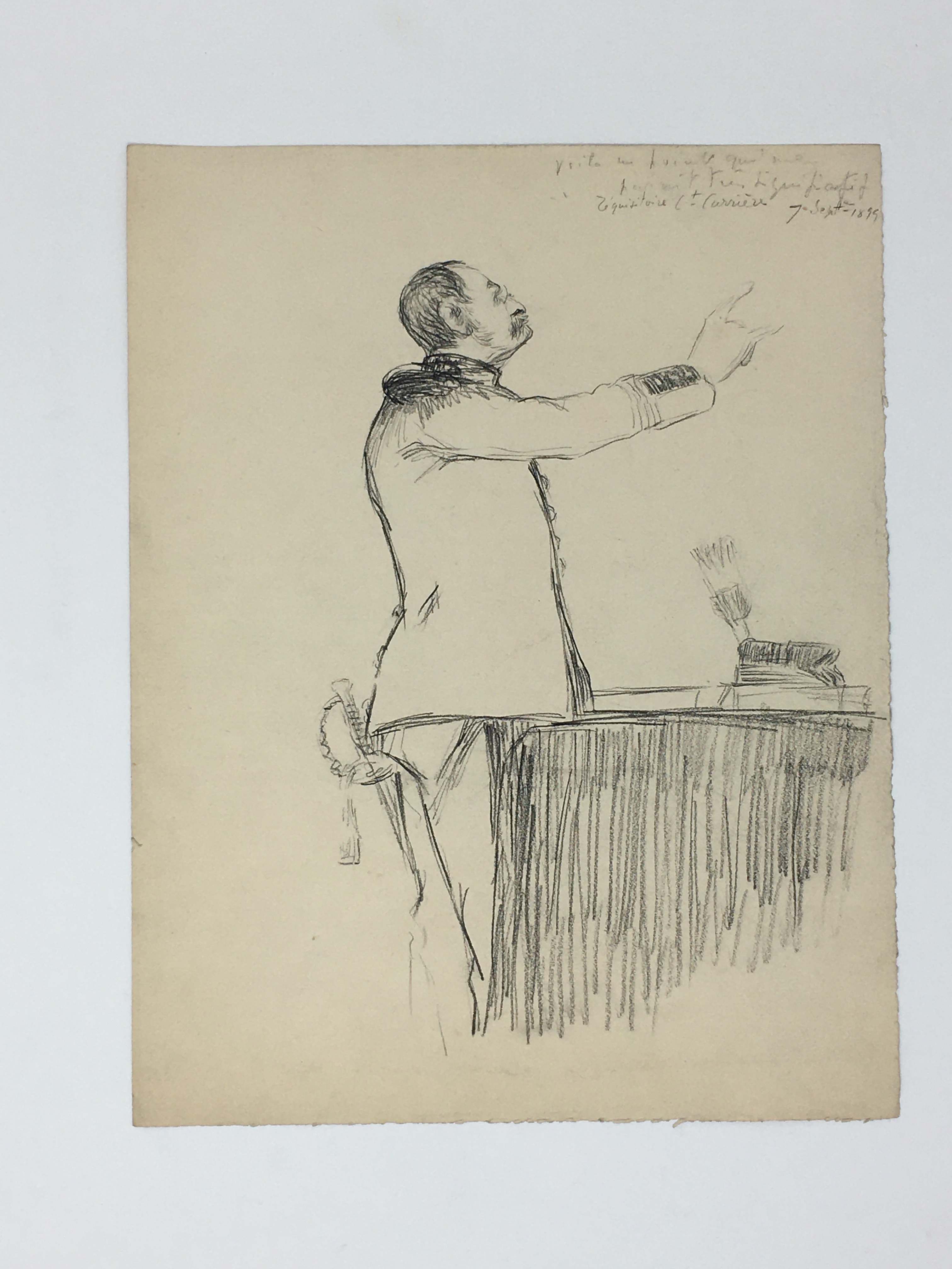 J'Accuse Newspaper, Emile Zola Quote, Signed Dreyfus Portrait, Rare Trial Drawings & Schwartzkoppen - Image 53 of 74