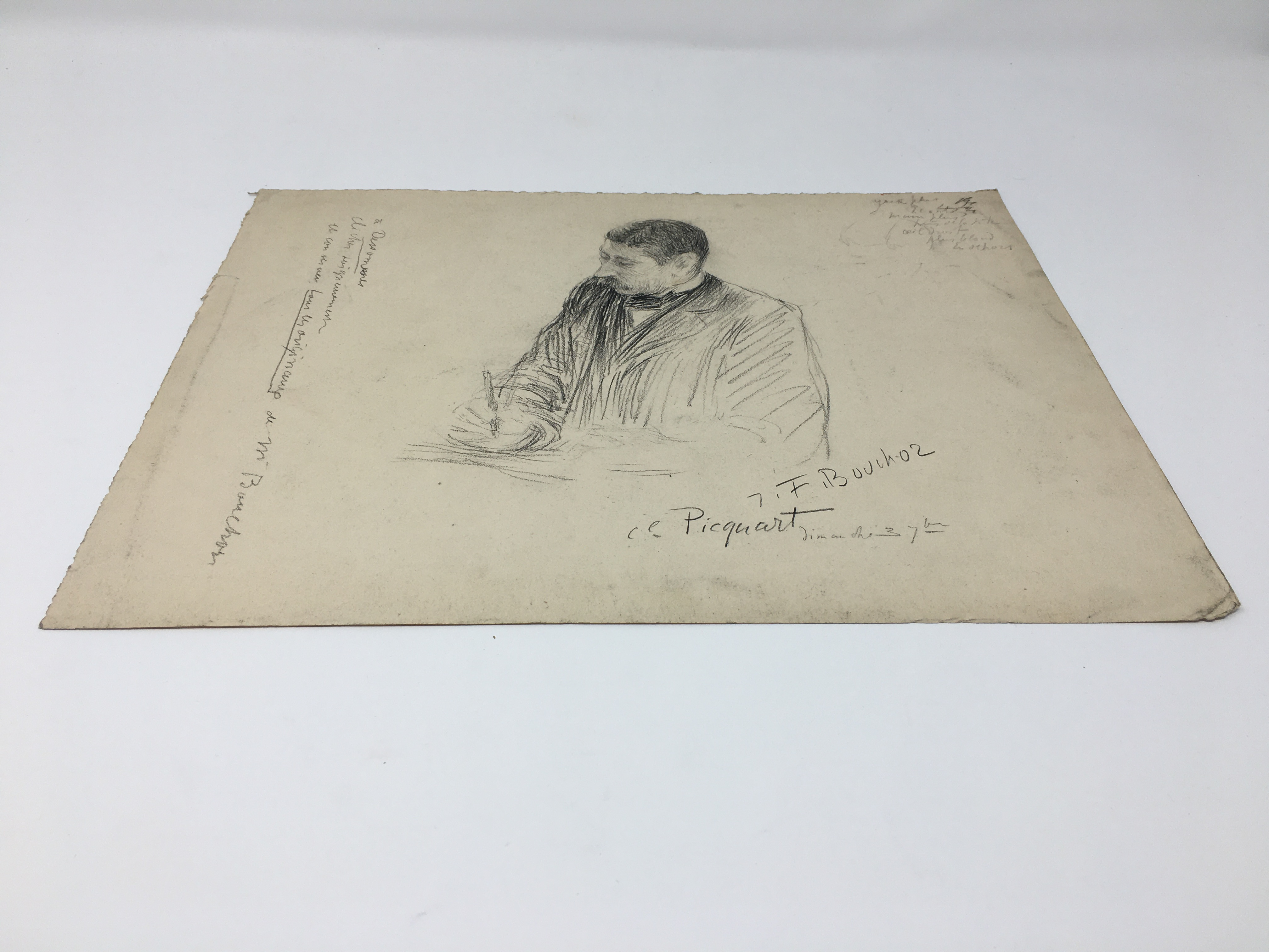 J'Accuse Newspaper, Emile Zola Quote, Signed Dreyfus Portrait, Rare Trial Drawings & Schwartzkoppen - Image 37 of 74