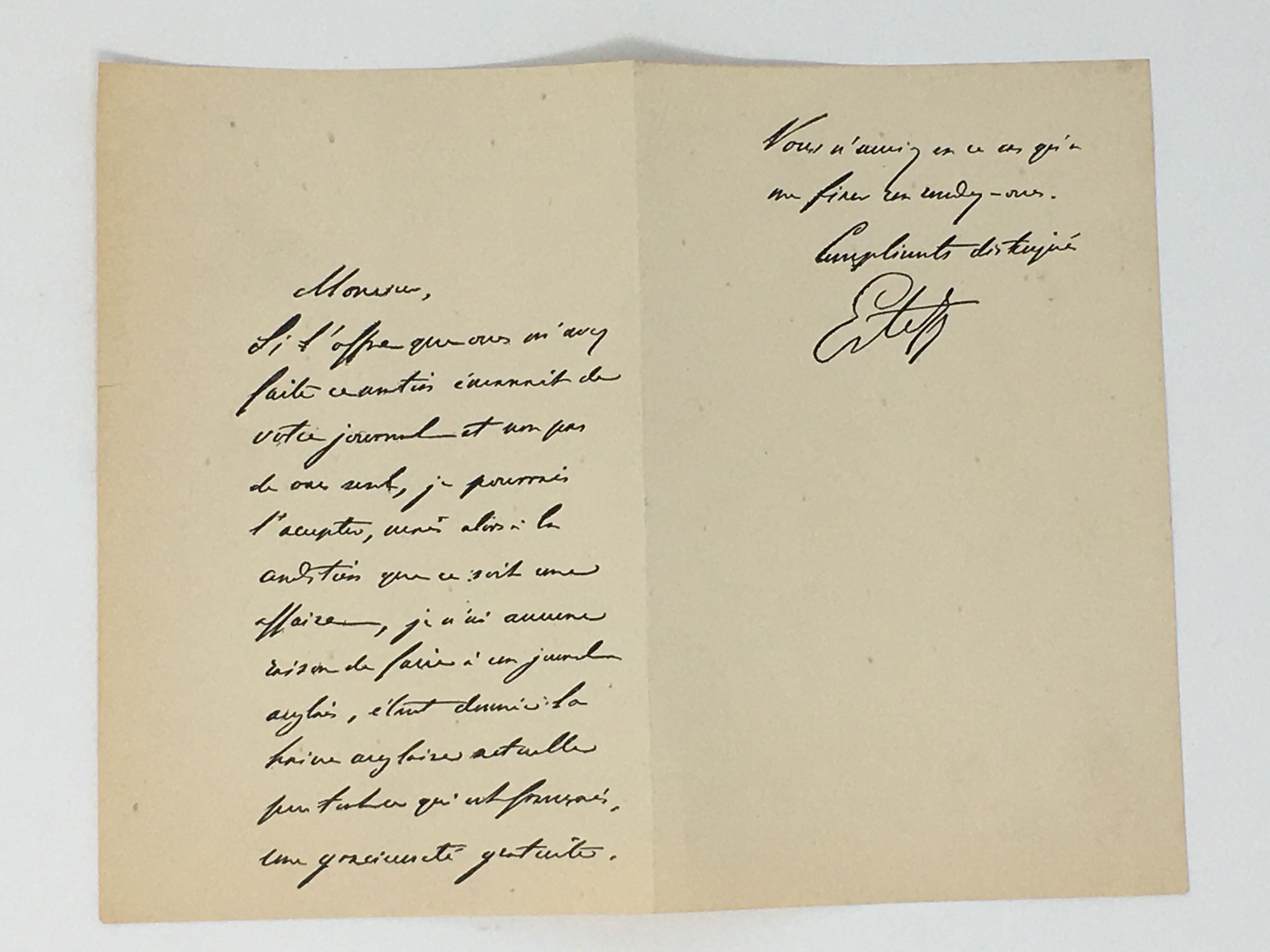 J'Accuse Newspaper, Emile Zola Quote, Signed Dreyfus Portrait, Rare Trial Drawings & Schwartzkoppen - Image 73 of 74