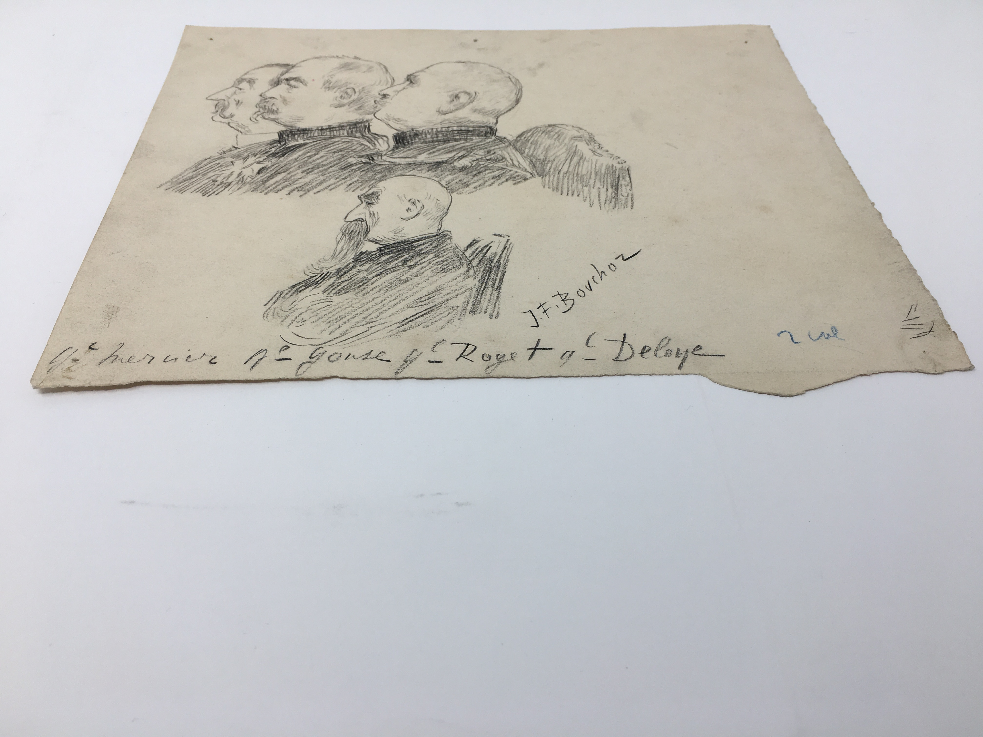 J'Accuse Newspaper, Emile Zola Quote, Signed Dreyfus Portrait, Rare Trial Drawings & Schwartzkoppen - Image 60 of 74