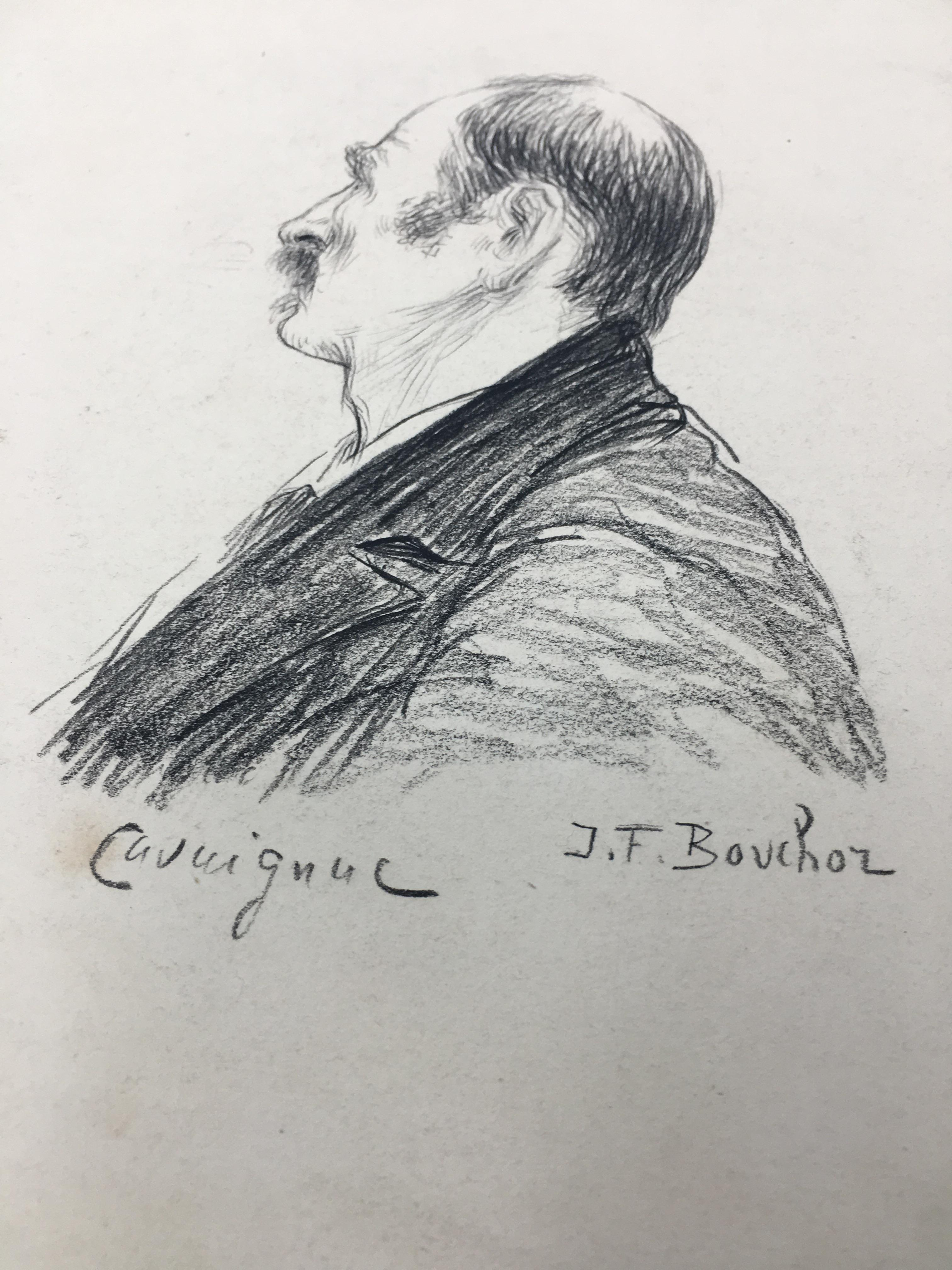 J'Accuse Newspaper, Emile Zola Quote, Signed Dreyfus Portrait, Rare Trial Drawings & Schwartzkoppen - Image 47 of 74