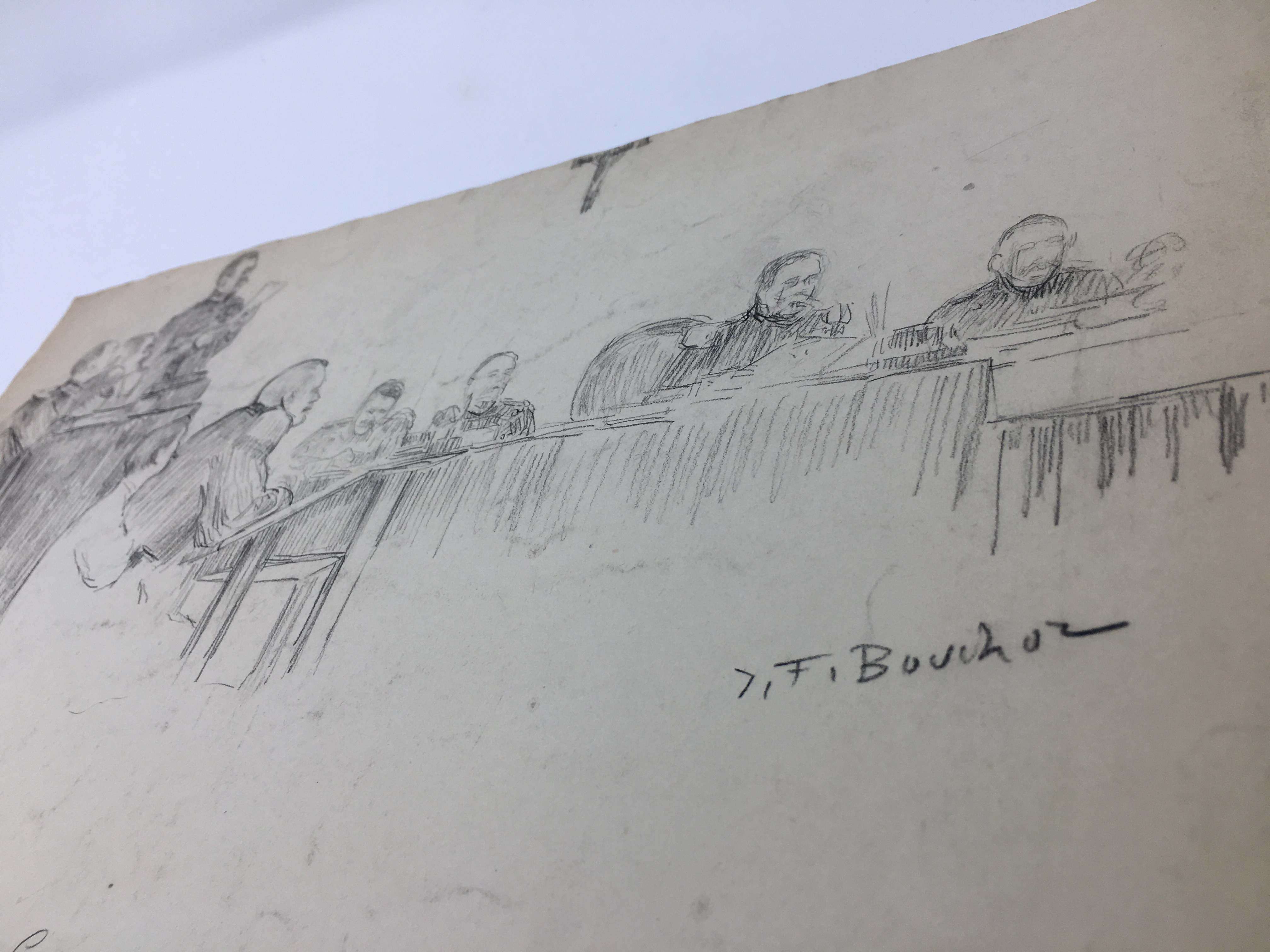 J'Accuse Newspaper, Emile Zola Quote, Signed Dreyfus Portrait, Rare Trial Drawings & Schwartzkoppen - Image 33 of 74