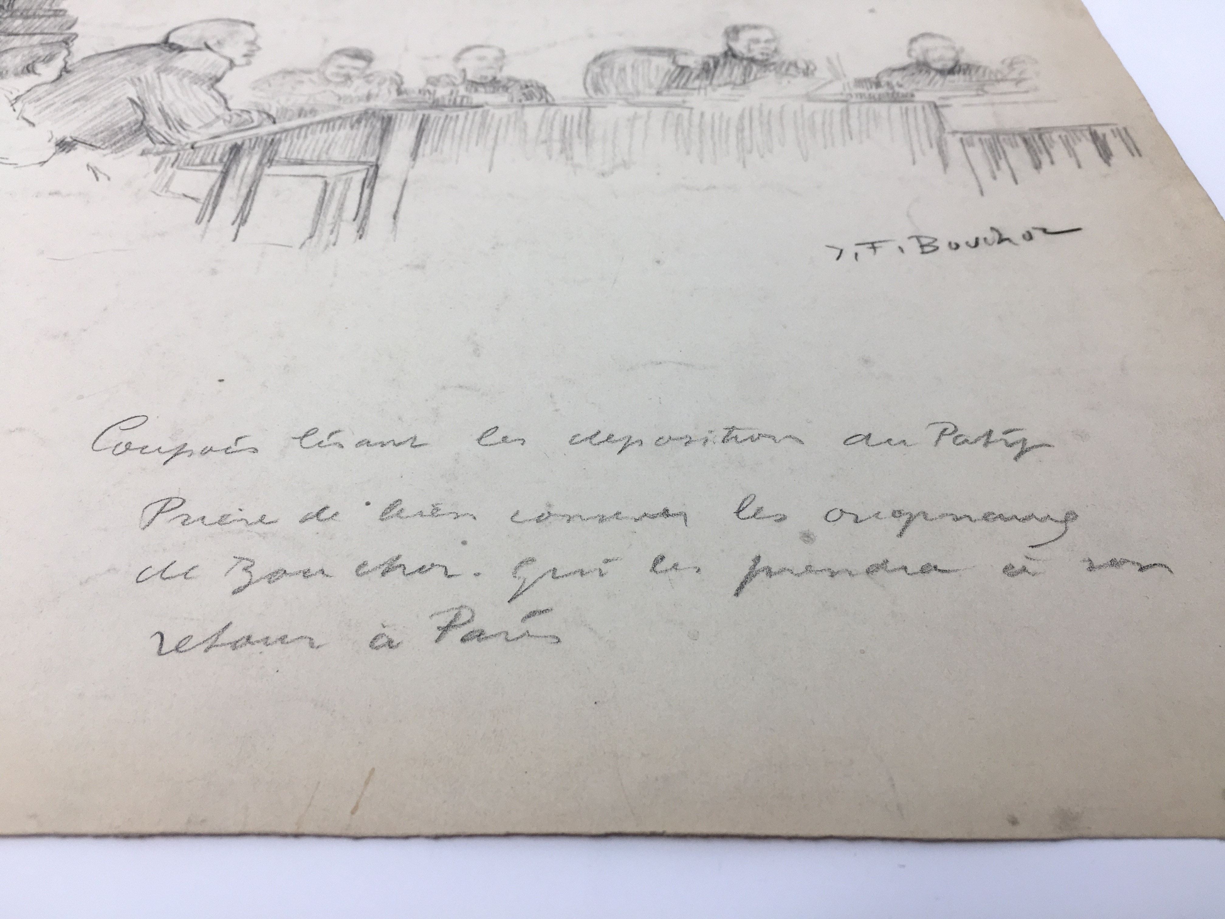 J'Accuse Newspaper, Emile Zola Quote, Signed Dreyfus Portrait, Rare Trial Drawings & Schwartzkoppen - Image 34 of 74