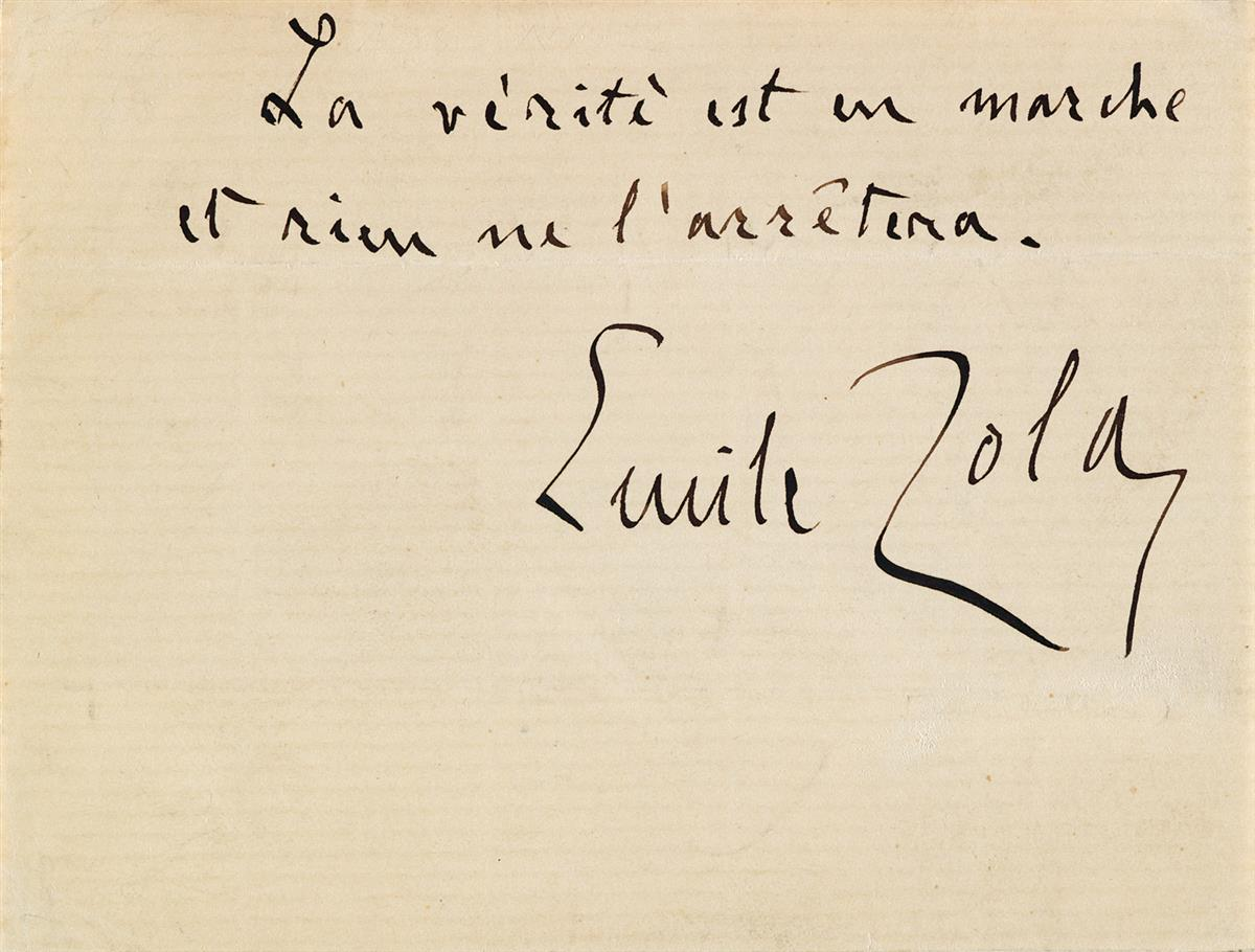 J'Accuse Newspaper, Emile Zola Quote, Signed Dreyfus Portrait, Rare Trial Drawings & Schwartzkoppen - Image 6 of 74