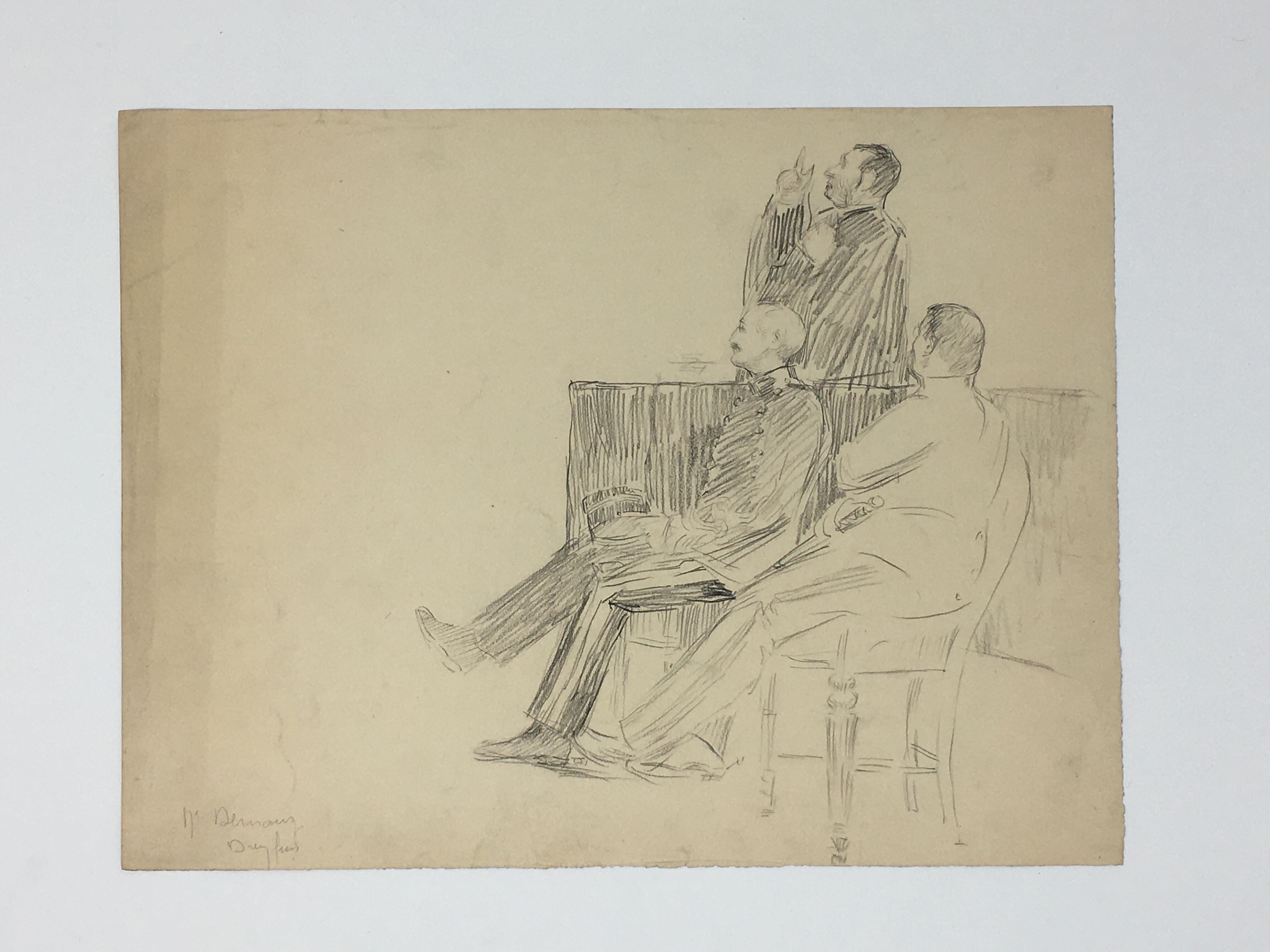 J'Accuse Newspaper, Emile Zola Quote, Signed Dreyfus Portrait, Rare Trial Drawings & Schwartzkoppen - Image 24 of 74