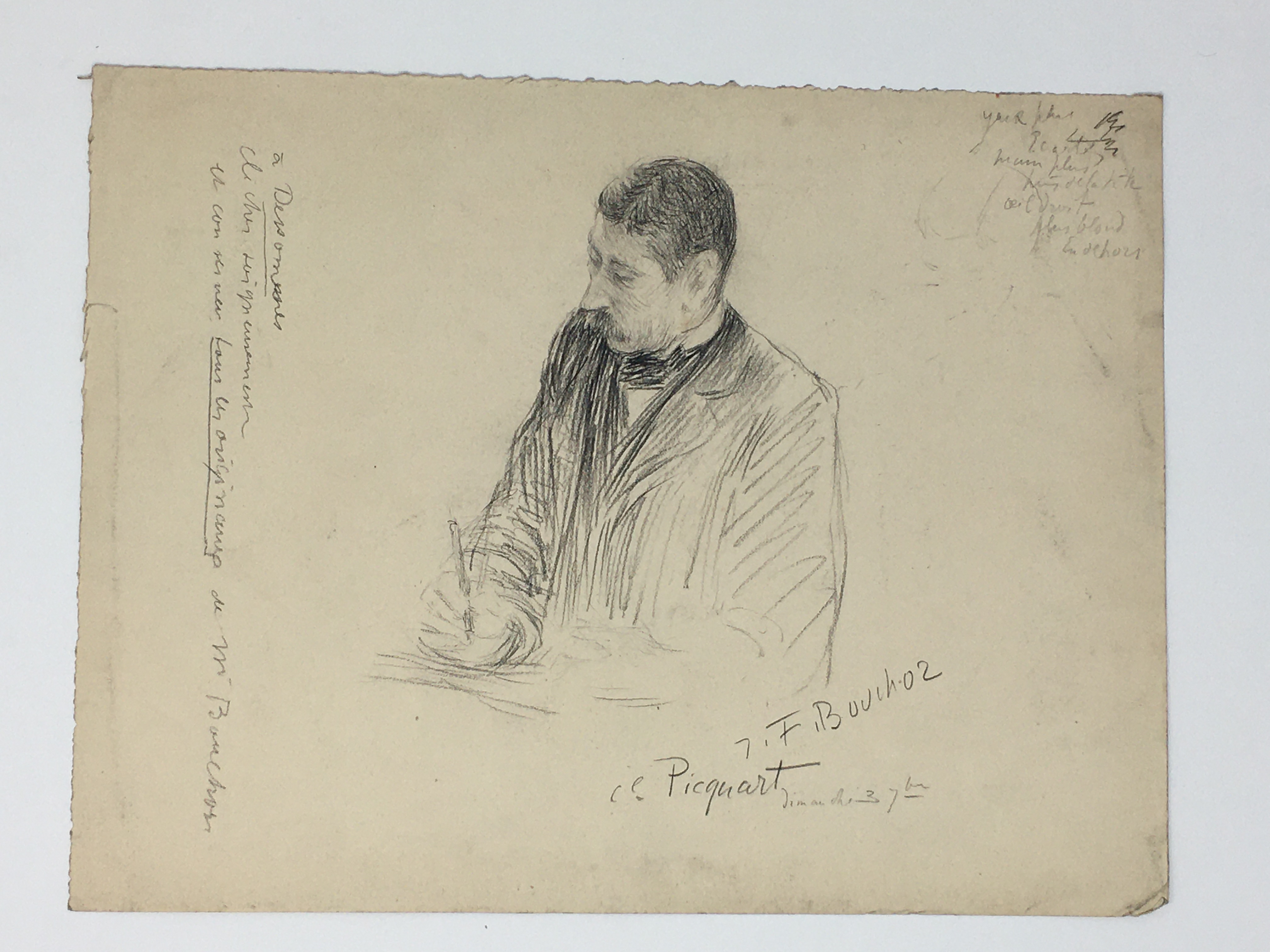 J'Accuse Newspaper, Emile Zola Quote, Signed Dreyfus Portrait, Rare Trial Drawings & Schwartzkoppen - Image 36 of 74