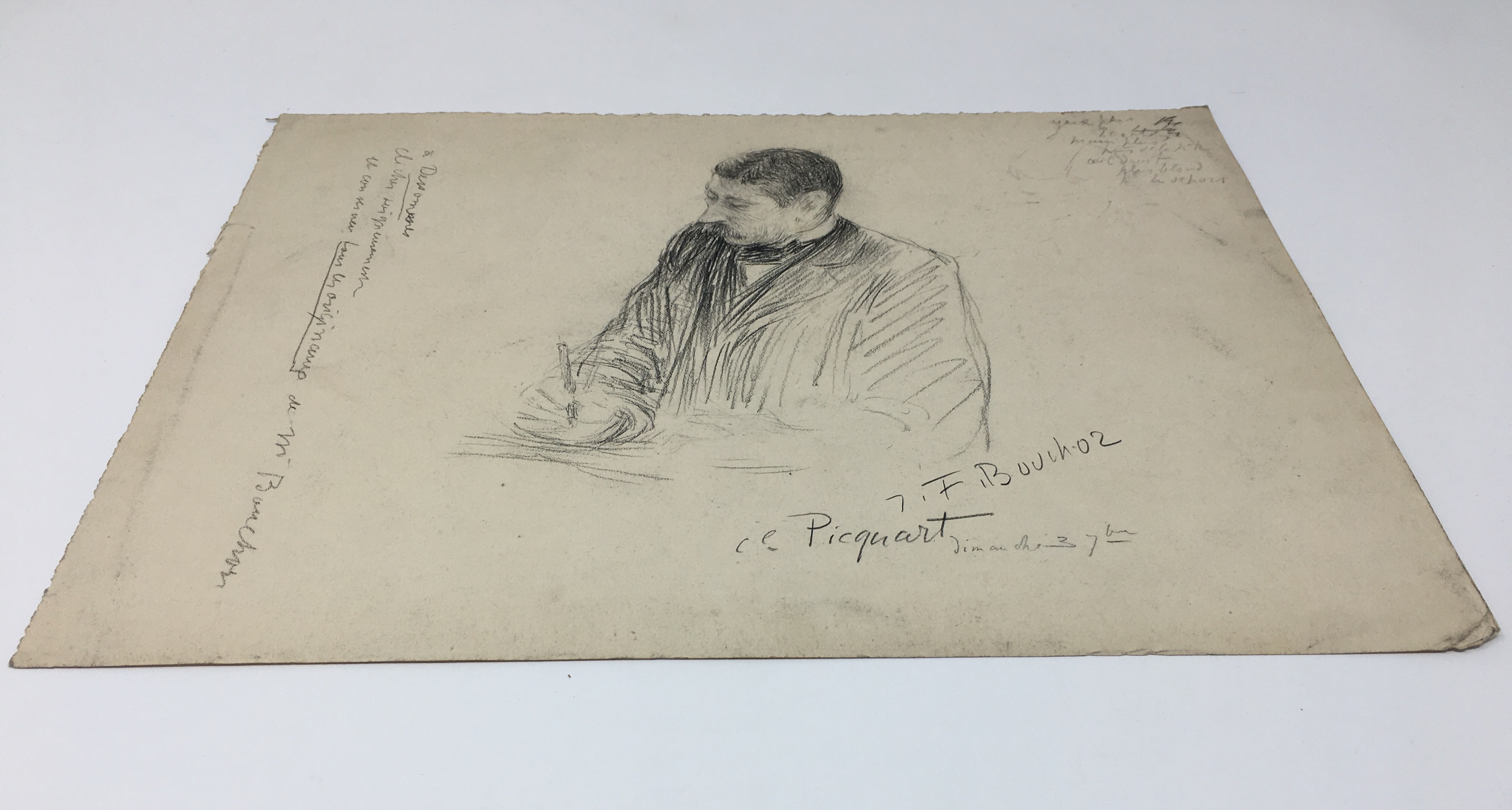 J'Accuse Newspaper, Emile Zola Quote, Signed Dreyfus Portrait, Rare Trial Drawings & Schwartzkoppen - Image 38 of 74