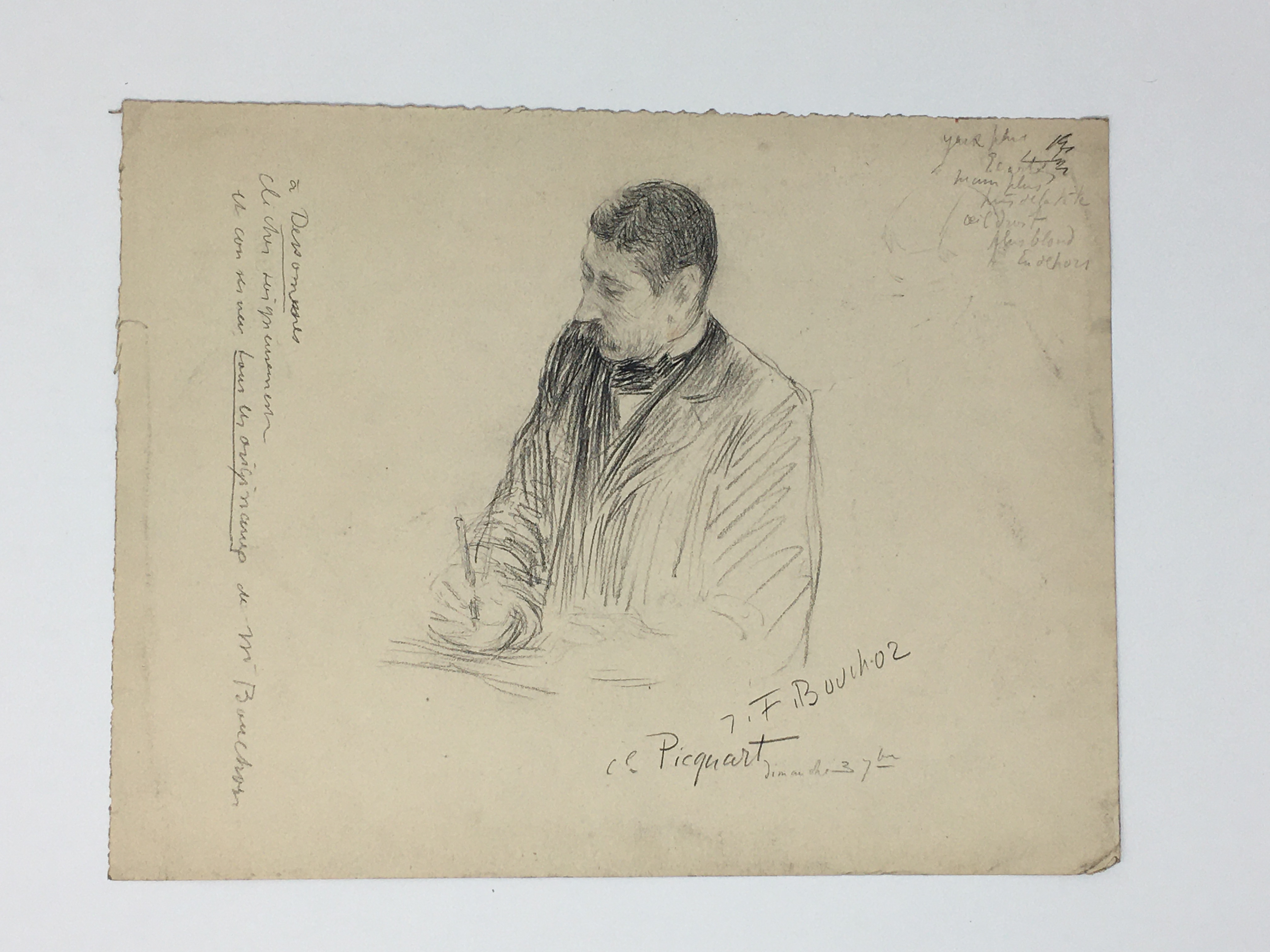 J'Accuse Newspaper, Emile Zola Quote, Signed Dreyfus Portrait, Rare Trial Drawings & Schwartzkoppen - Image 35 of 74