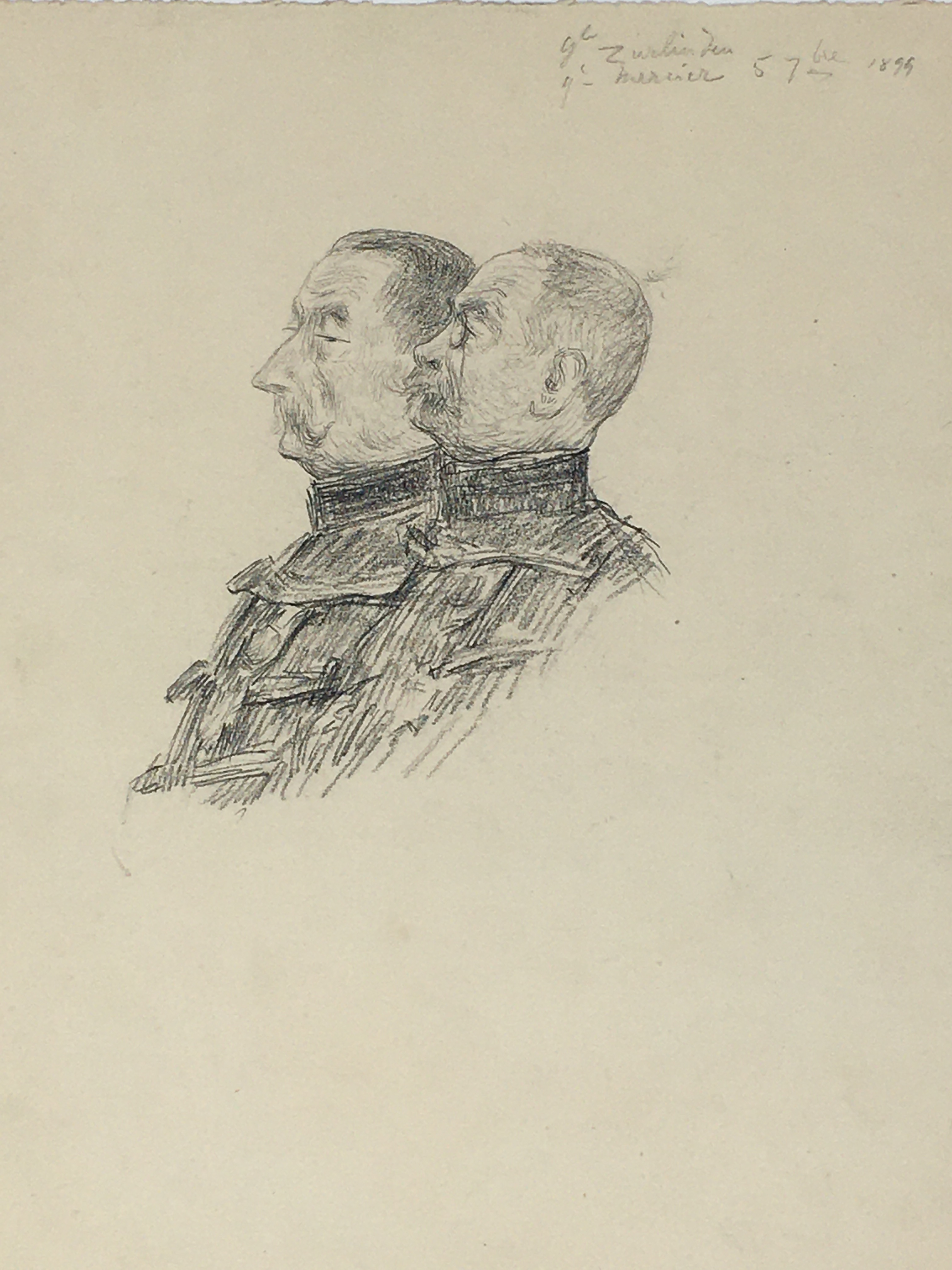 J'Accuse Newspaper, Emile Zola Quote, Signed Dreyfus Portrait, Rare Trial Drawings & Schwartzkoppen - Image 67 of 74