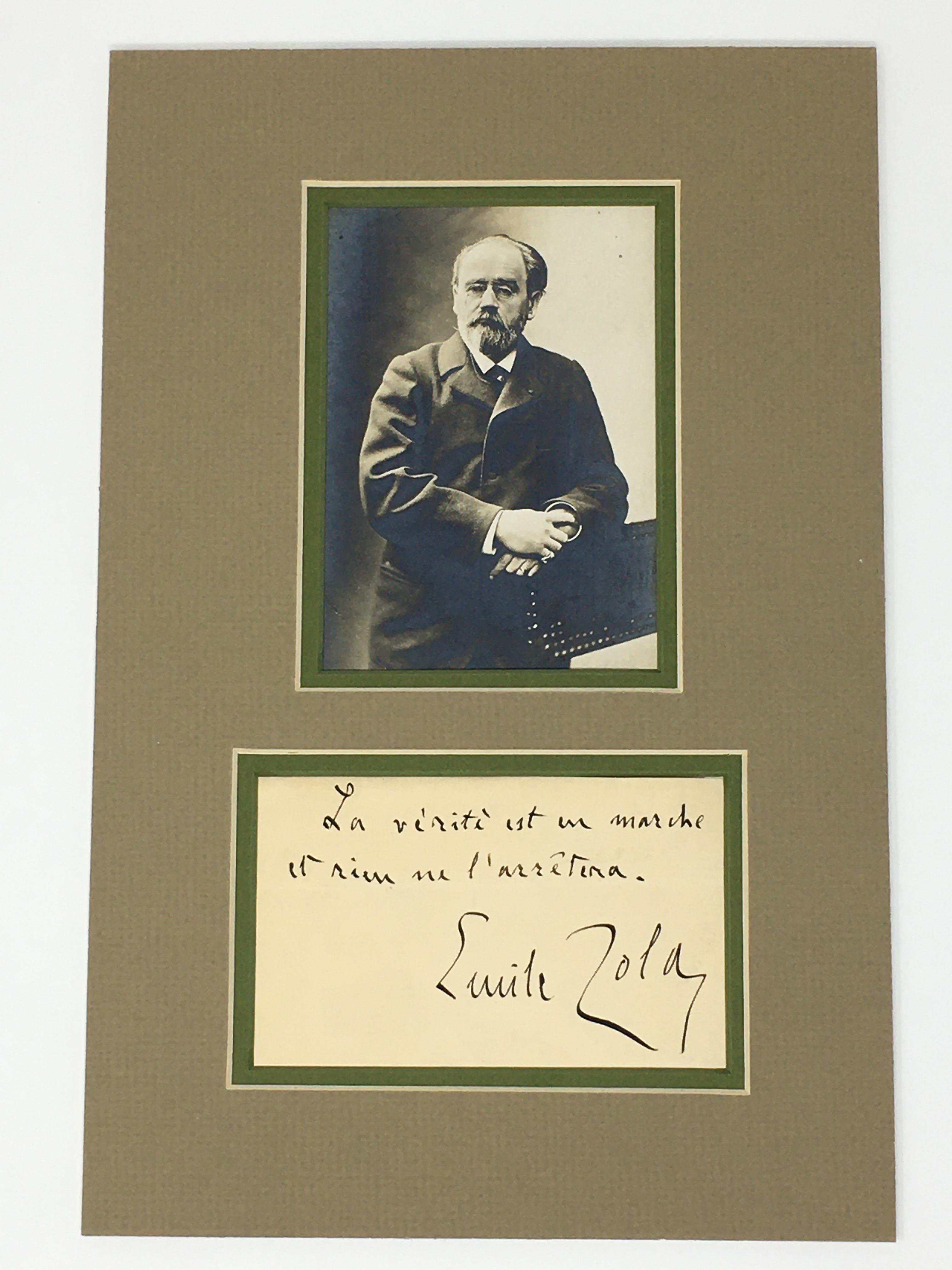 J'Accuse Newspaper, Emile Zola Quote, Signed Dreyfus Portrait, Rare Trial Drawings & Schwartzkoppen - Image 5 of 74
