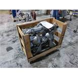 Sandpiper stainless 4 in x 4 in diaphragm pump, model HDF3DN7, ser. no 2177236 [1st Flr Main