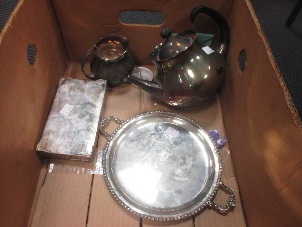 A collection of Continental silver items together with some silver plate and brass - Image 2 of 2