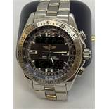 BREITLING CHRONO A78362 STAINLESS STEEL WATCH