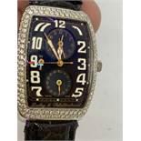 Dubey & Schaldenbrand Aerodyn Duo Watch - Approx 3.00cts Diamonds