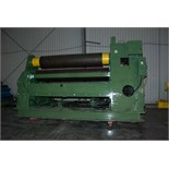 "ROUNDO 10' X 1-5/8"" MDL. PS 500/10 DOUBLE PINCH PLATE BENDING ROLL, 19.69"" roll dia., 85 HP motor,"