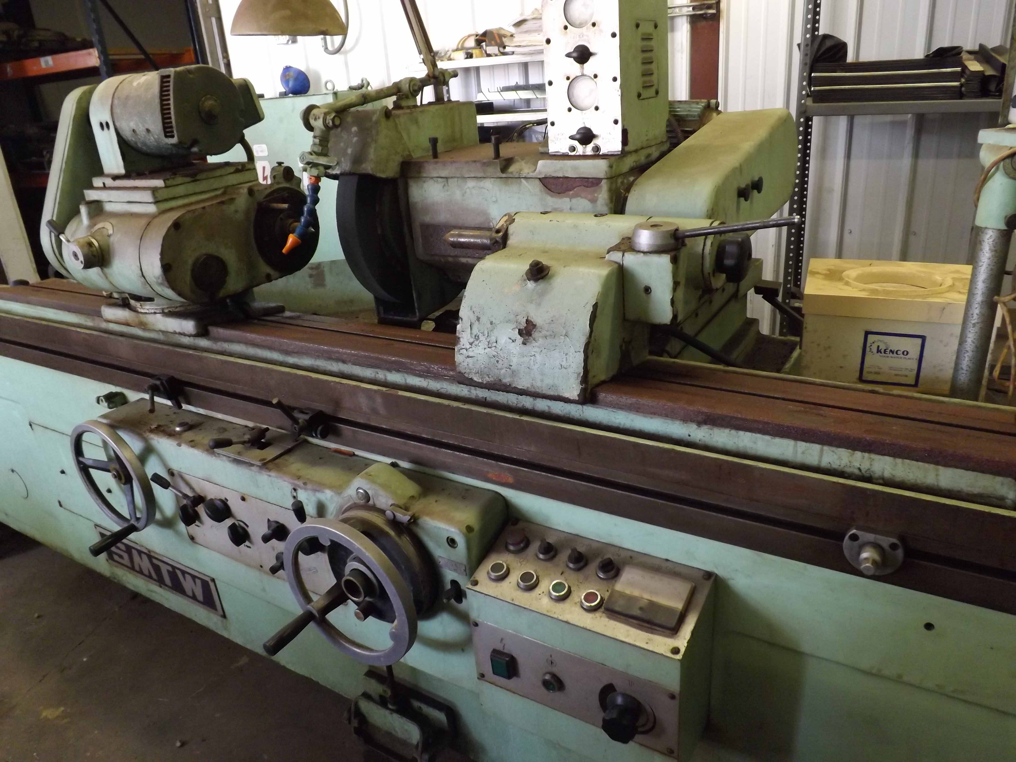 "Lot 49 - SMTW 12"" X 60"" MDL. MG1432AX1500 GRINDER, S/N 294 The client will load this machine for an"