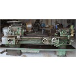 "AXELSON 16"" X 54"" LATHE, taper attach., steadyrest, newly rewound motor, S/N 10003 The client will"