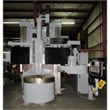 "BULLARD DYN-AU-TAPE 56"" CNC VERTICAL BORING MILL, retrofitted 9/2008 by Essex Machine Tool Services,"