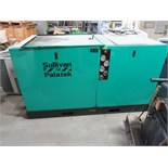 SULLIVAN PALATEK 40UD ROTARY SCREW AIR COMPRESSOR, 40 HP motor. Seller will load for an additional