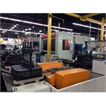 MANUFACTURING CELL CONSISTING OF: (2) MAZAK MDL. H-630 CNC HORIZONTAL MACHINING CENTERS, new 1994,