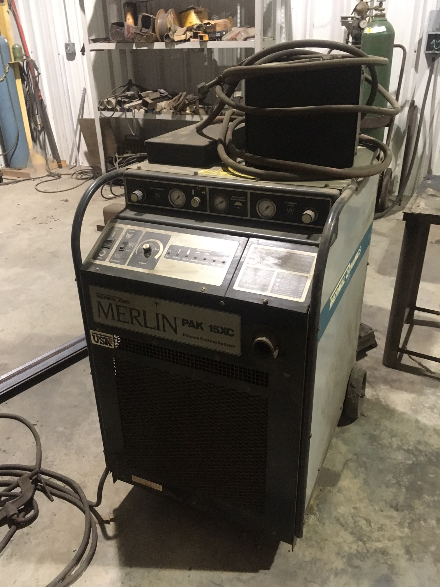 Lot 51 - THERMAL DYNAMICS MDL. PAK 15XL PLASMA POWER SOURCE, S/N T10808A18450 ID (LOCATION H: COMMIATOS