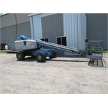 "GENIE MDL. S60 MANLIFT, new 2000, 60' ht. platform, 51'-3"" max. platform reach, 500 lbs. rated"