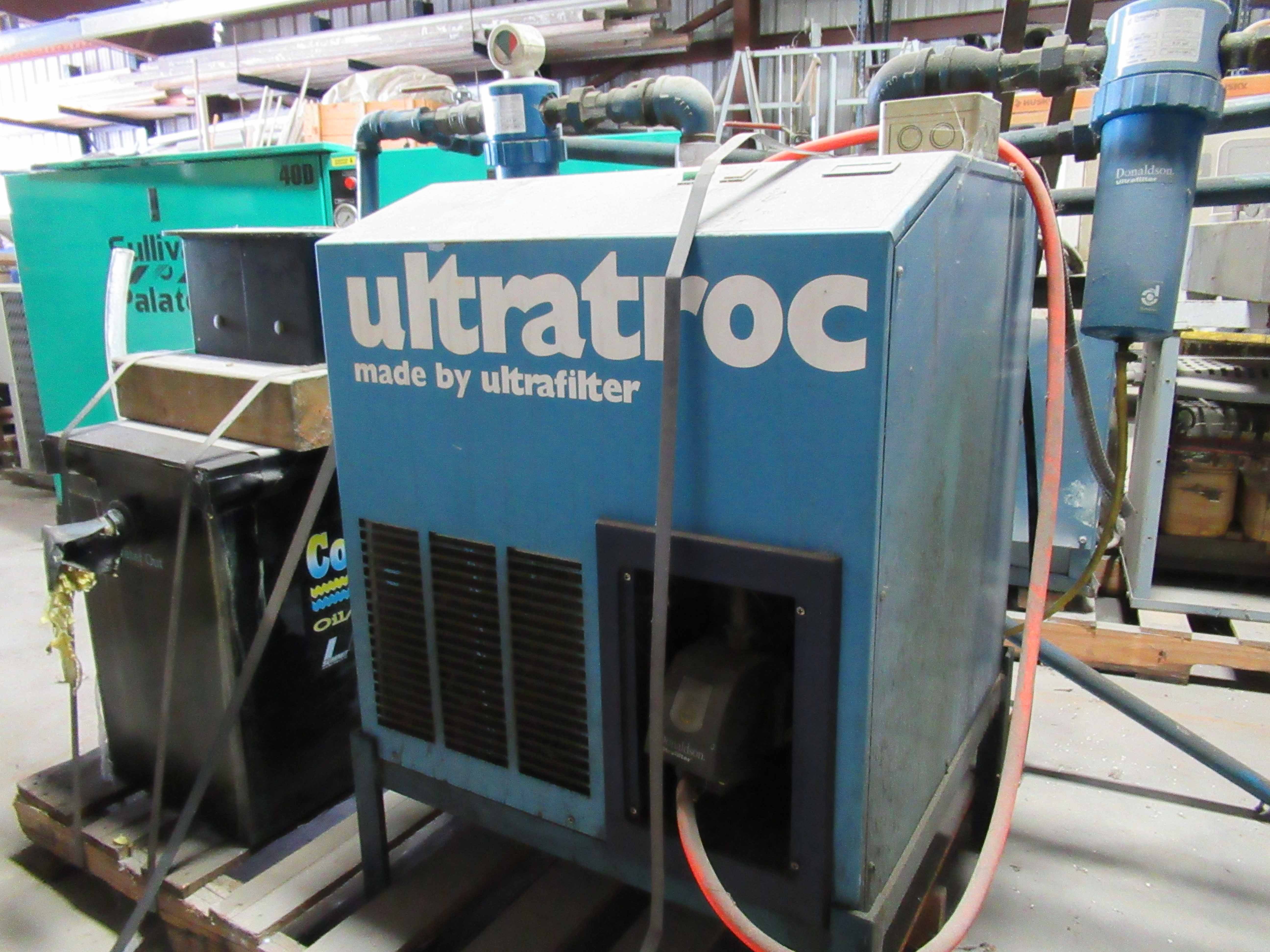 Lot 8 - ULTRAFILTER/ULTRATROC AIR DRYER MDL. SD0375-60, Type 446, w/condenser unit, S/N 003/13144/19. Seller