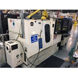 "HITACHI SEIKI MDL. HITEC-TURN 20S II CNC LATHE, new 1992, Seiki Multi CNC control, 15"" sw. over bed,"