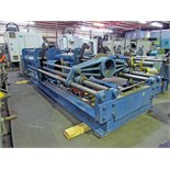 PUSH/PULL COMPRESSION/FORCING PRESS, Hogan hyd. tank, (2) Presto 6,000 lb. cap. hyd. lift tables,