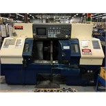 "MAZAK MDL. DUAL TURN 20 CNC LATHE, new 1997, Mazatrol T Plus CNC control, 12.6"" sw. over bed, 10"""